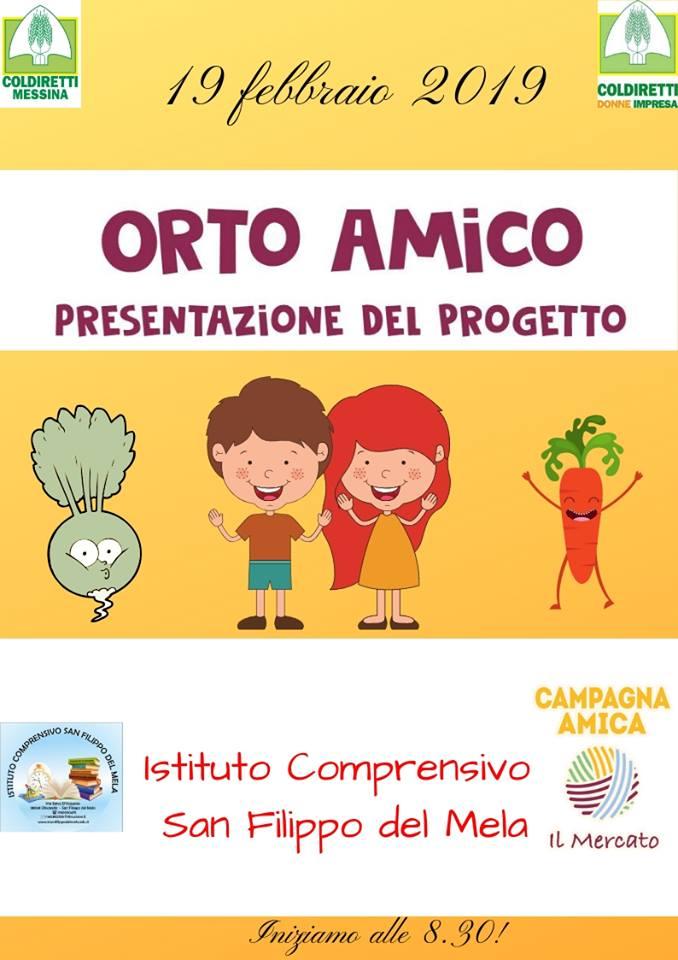 Calendario Semina Orto 2020.Istituto Comprensivo San Filippo Del Mela Presentato Il
